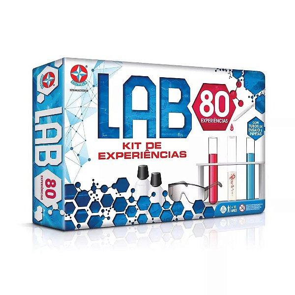 Jogo Lab 80 Kit de Experiências Estrela