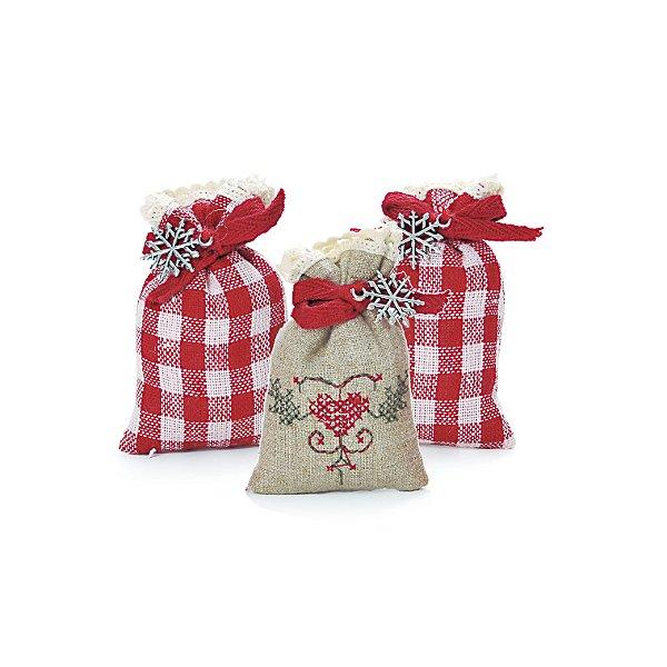 Saches Perfumados Natalinos Kit com 3 Cromus