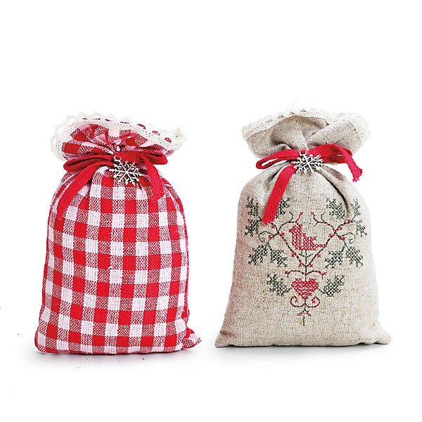 Saches Perfumados Natalinos Grande Kit com 3 Cromus