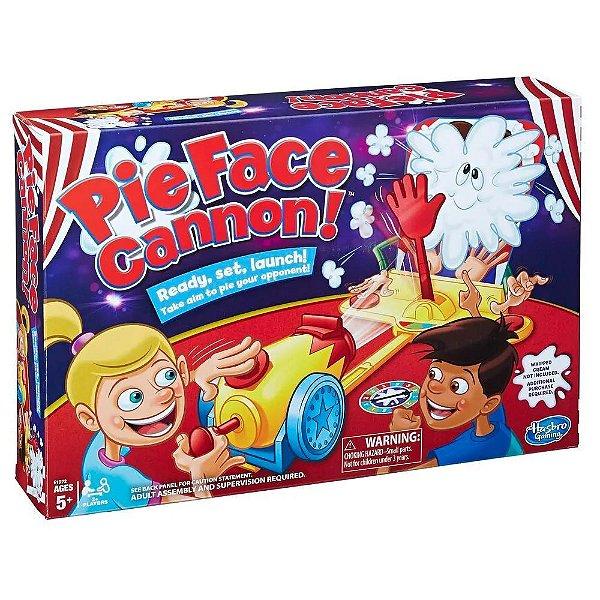 Jogo Pie Face Cannon! Hasbro - Torta na Cara Canhão