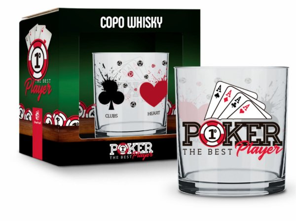 Copo Whisky Poker 320ml