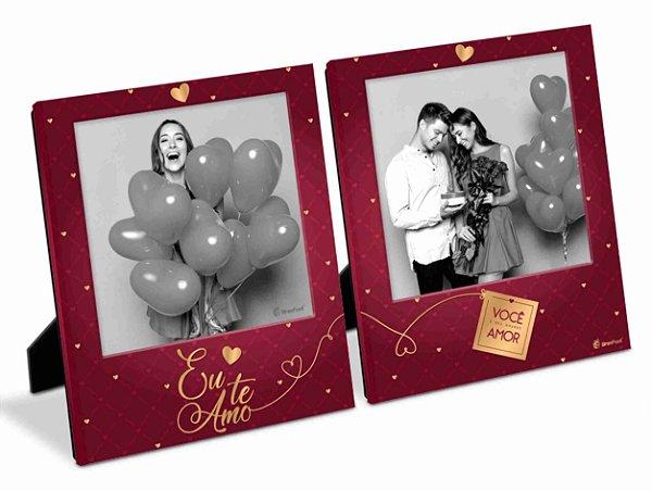 Porta Retrato Amor Eu Te Amo Duplo 10x10