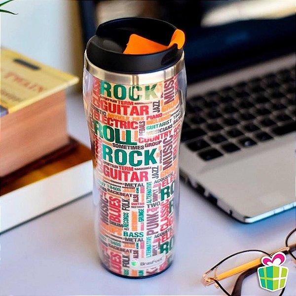 Copo Térmico Rock Roll 450ml