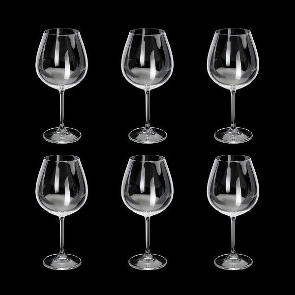 Jogo de Taças para Degustação Cristal Bohemia Gastro/Colibri 650ml 6 peças