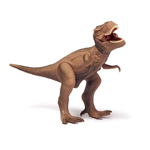 Dinossauro com Som Cotiplás Tyrannosaurus Rex Dino World
