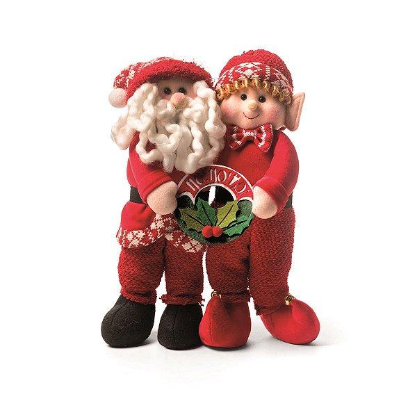 Papai Noel e Elfo Cromus Nápoles