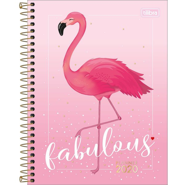 Planner Aloha 2020 Flamingo Tilibra