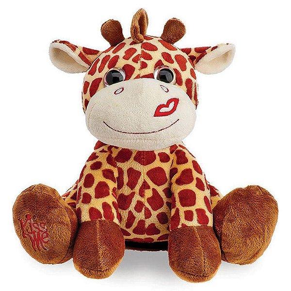 Girafa de Pelúcia Buba Beijinho