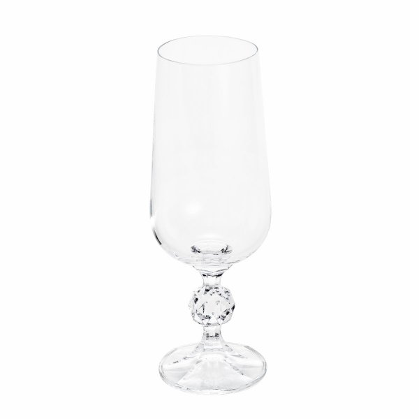 Jogo de Taças Cristal Bohemia Cerveja Klaudie/Sterna 280ml 6 peças