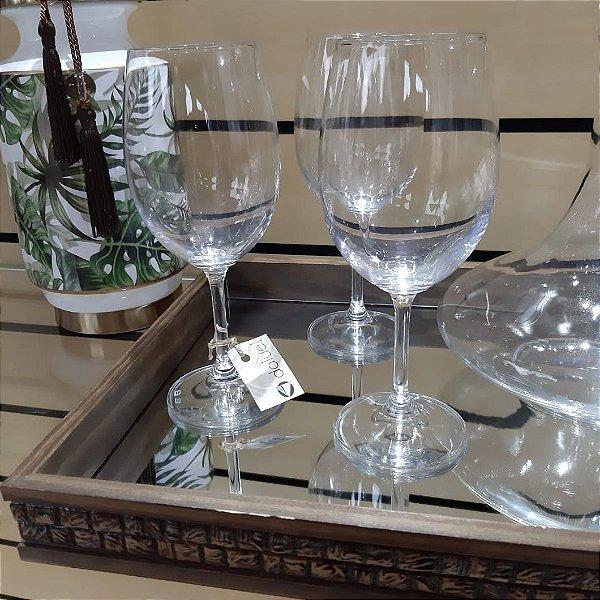 Jogo de Taças Cristal Bohemia Vinho Tinto Gastro/Caroline 450ml 6 peças