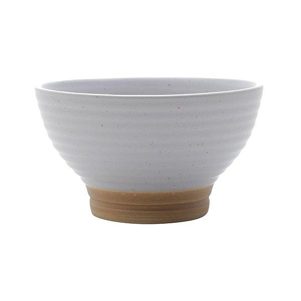 Bowl Cerâmica Cinza Romance 500ml Jogo c/2 unidades