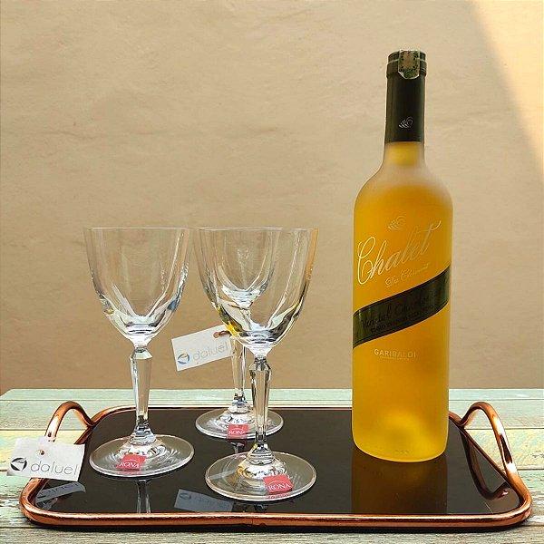 Jogo de Taças Cristal Vinho Branco Ivana 200ml 6 peças