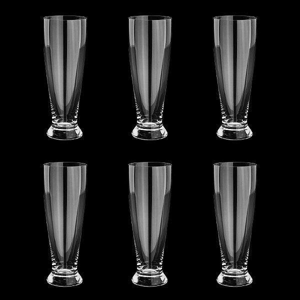 Jogo de Copos para Cerveja Cristal Bernard 330ml 6 peças