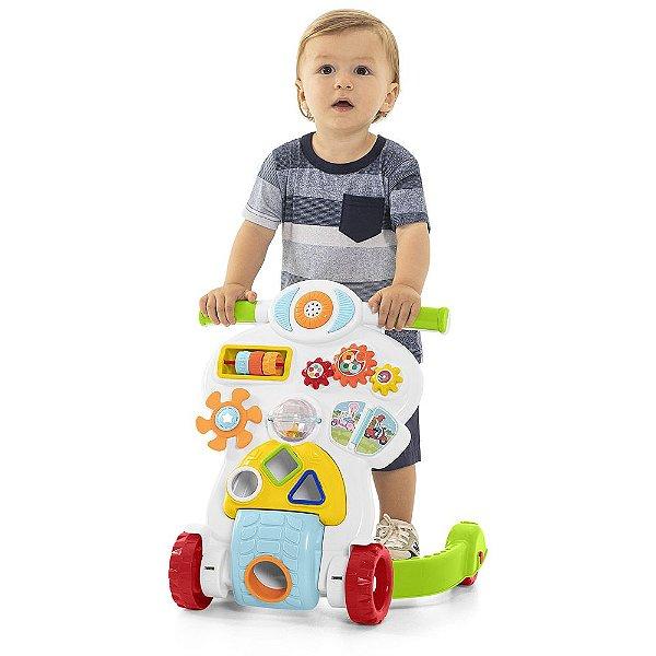 Andador Bebê Piloto Tateti Com Peças para Montar