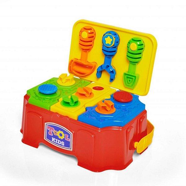 Brinquedo Ferramentas Tool Kids Tateti