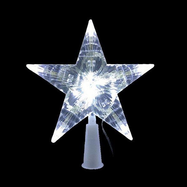 Estrela de LED Ponteira Luz Branco Frio 220V