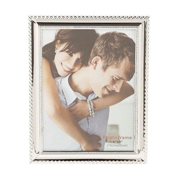 Porta Retrato 20 x 25 cm Prata Knot