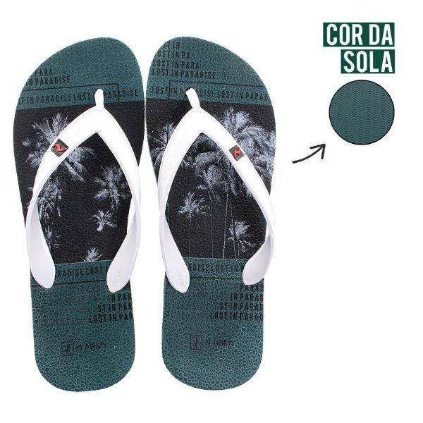 Chinelo Masculino RR Army LOST IN PARADISE