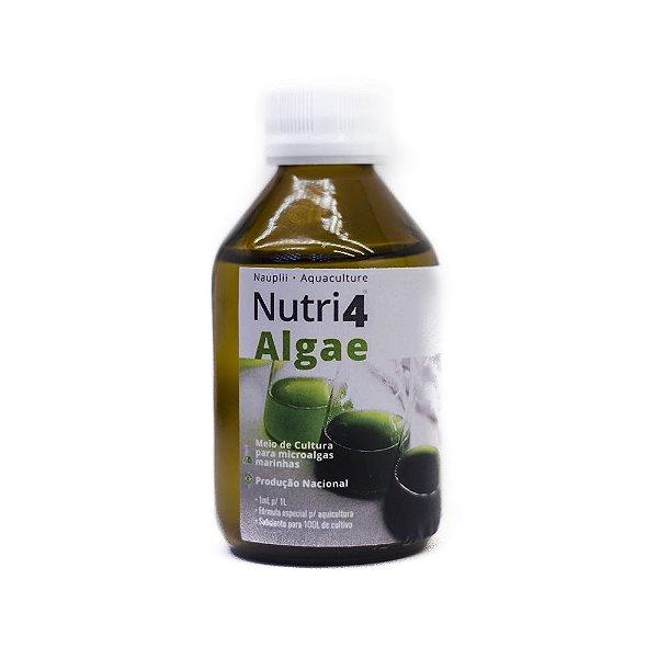 Nutri4Algae 100mL | Meio de Cultura para Microalgas - Baseado em Guillard F/2