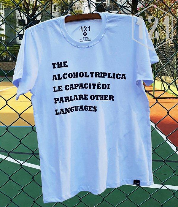 Camiseta The Alcohol triplica le capacité