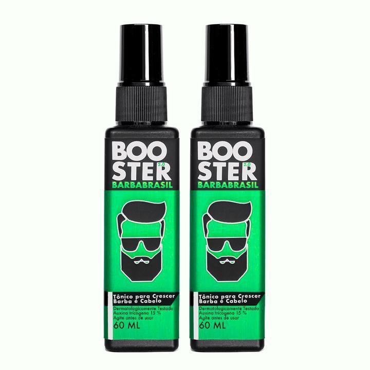 Kit 2 Booster - Crescimento da Barba (120 dias) - Barba Brasil 60ml