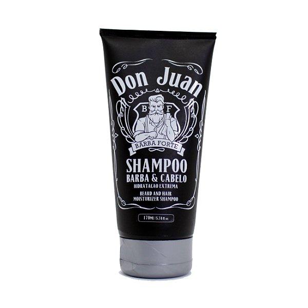Shampoo para Barba Hidratação Extrema Don Juan - Barba Forte - 170ml