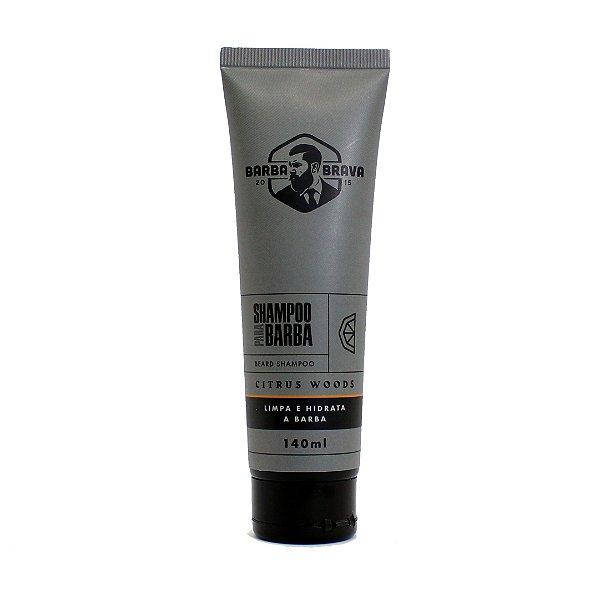 Shampoo para barba Citrus Woods Barba brava - 140ml