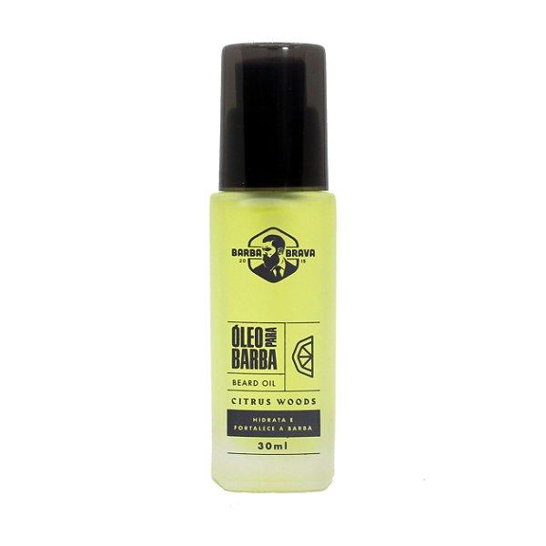 Óleo para barba Citrus Woods Barba Brava - 30ml