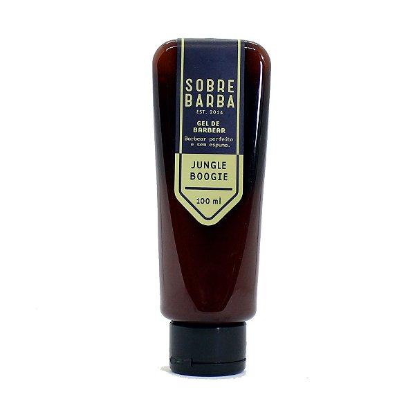 Gel de barbear Sobrebarba 100ml - Jungle Boogie
