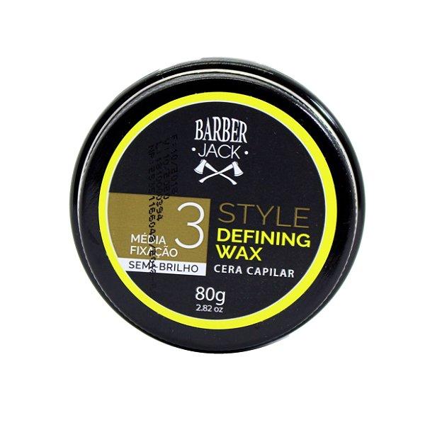 Cera capilar barber Jack Style Defining wax 3 - 80g