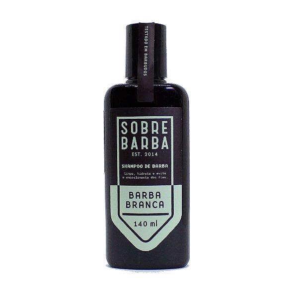 Shampoo para barba grisalha/branca Sobrebarba 140ml