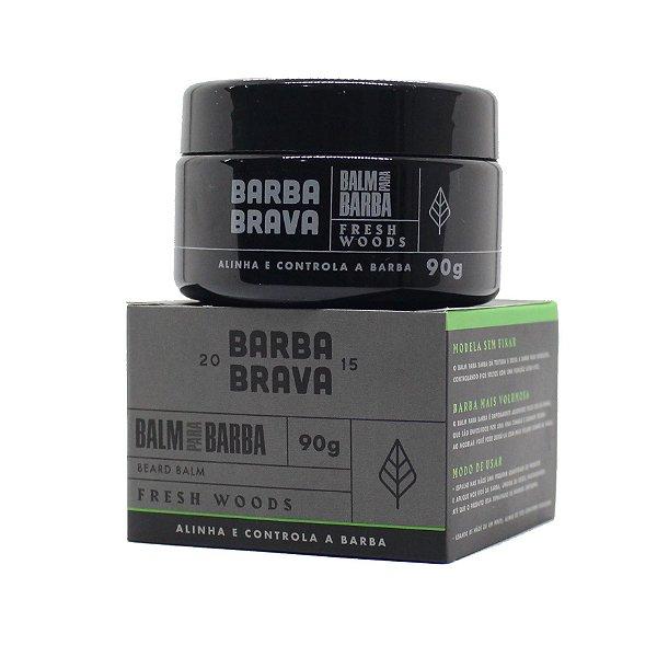 Balm para barba Fresh Woods Barba Brava - 90g