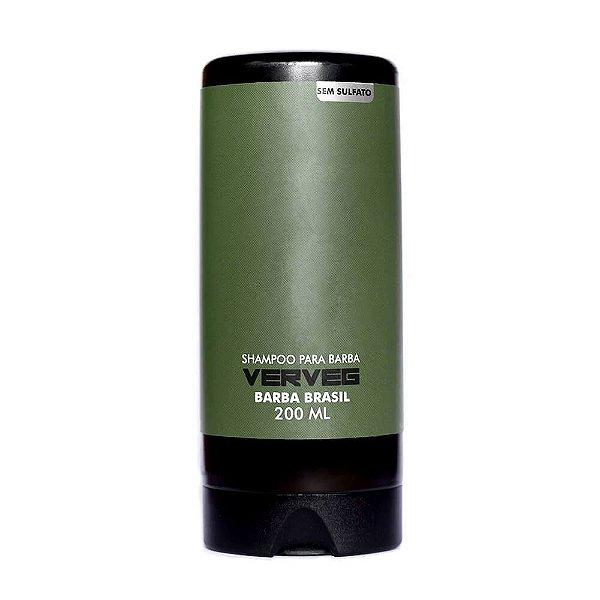 Shampoo para Barba Vegano VERVEG - Barba Brasil - 200ml