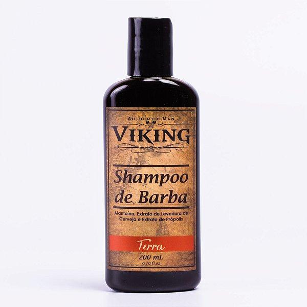 Shampoo para Barba Viking - Linha Terra - 200ml