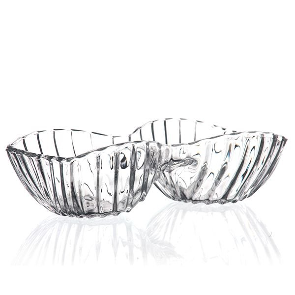 Petisqueira de Cristal - 13x6 cm