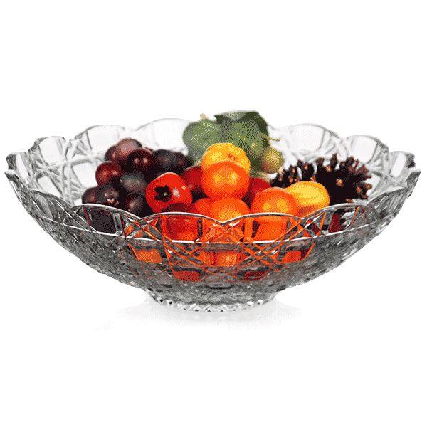 Fruteira de Cristal - 30x10 cm