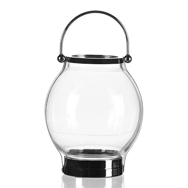 Castiçal de Vidro - 18x22 cm