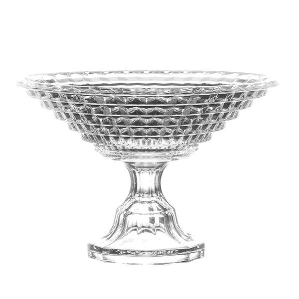 Saladeira de Cristal Lapidado - 18,5x20 cm
