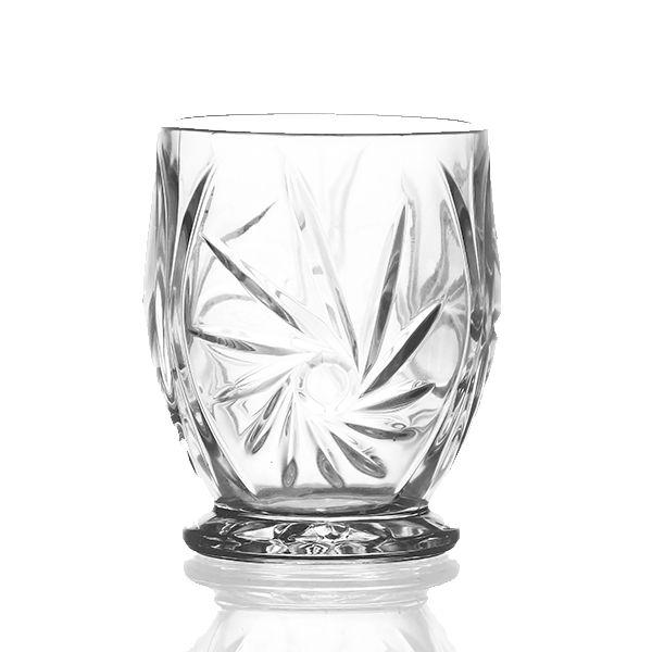 Castiçal de Vidro para Decoração - 10x13 cm