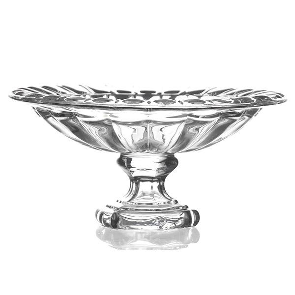Fruteira de Cristal - 32,5x15  cm