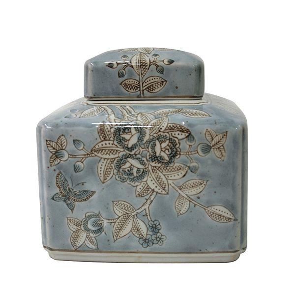 Potiche de Cerâmica - 15x16 cm