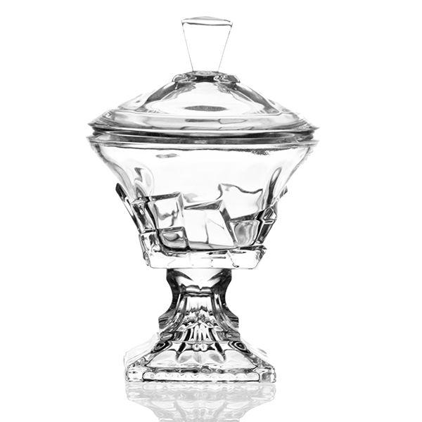 Bombonière de Cristal - 18,5x28 cm