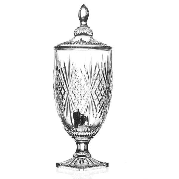 Suqueira de Cristal - 18,5 x 51