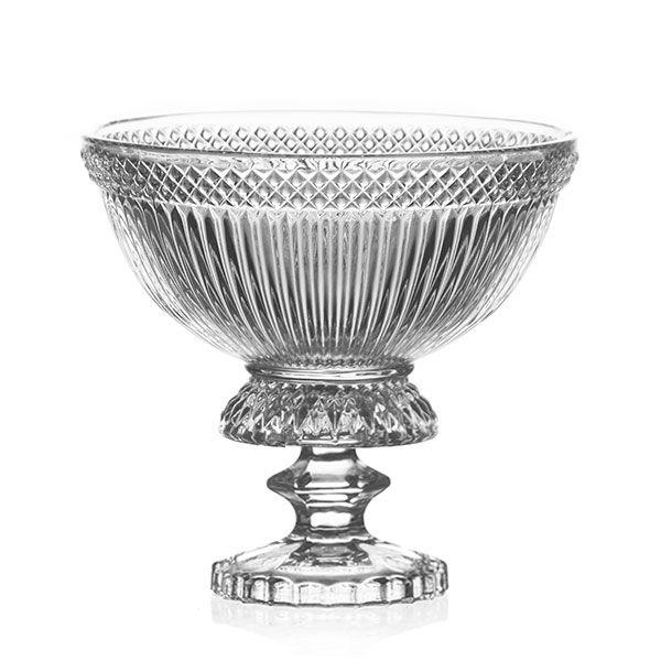 Fruteira de Cristal - 18 x 17 cm
