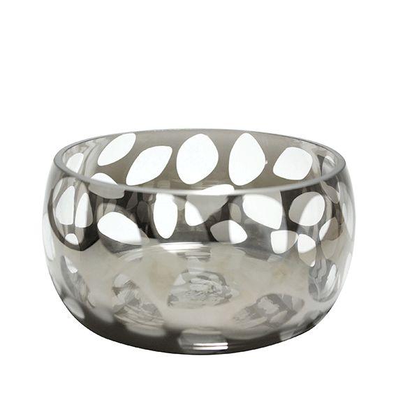 Vaso de Vidro TAM. P- 22x11 cm