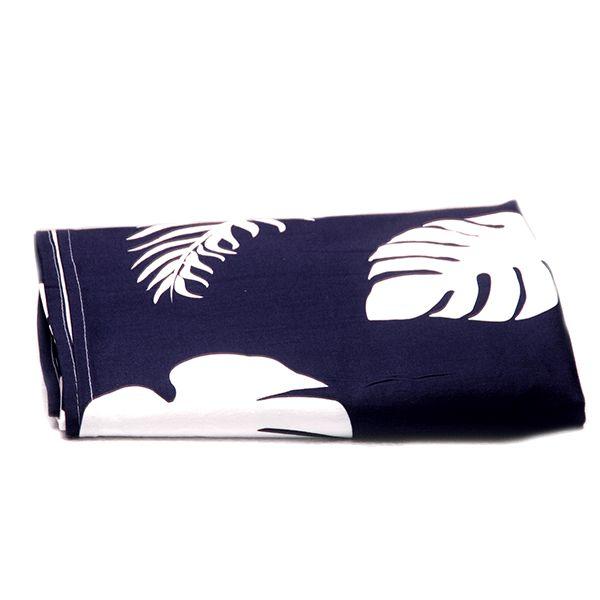 Toalha de Mesa Tropical Azul - 1,55x1,55 cm