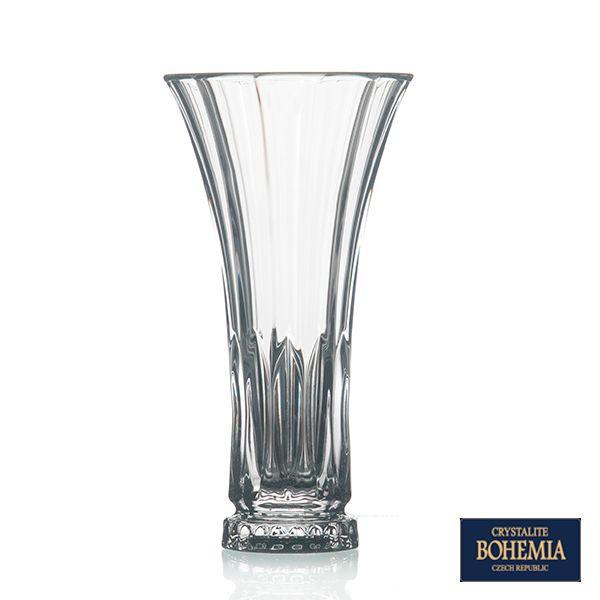 Vaso Bohemia Wellington de Cristal - 16x30 cm