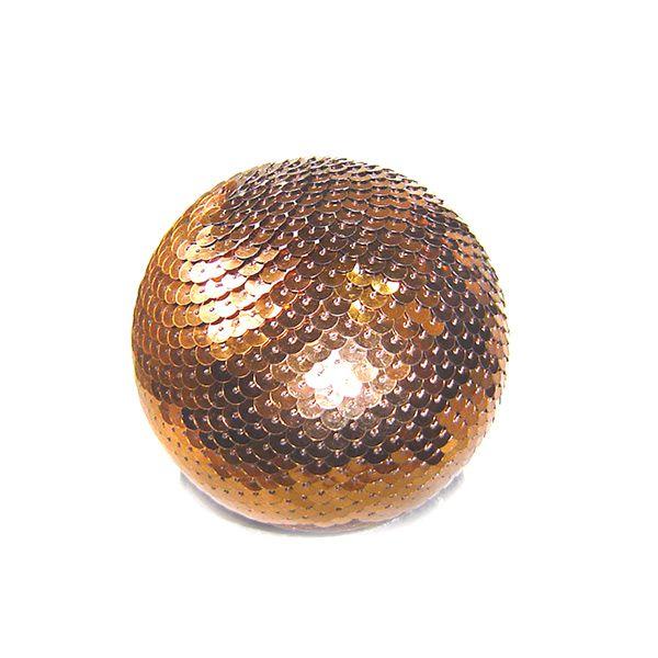 Bola Decorativa Dourada -10 cm