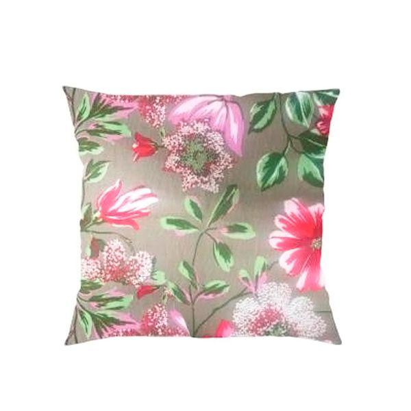 Capa para Almofada Floral - 43 x 43 cm