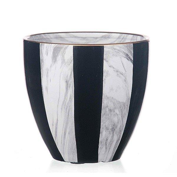 Vaso de Cerâmica - 17,5x16 cm